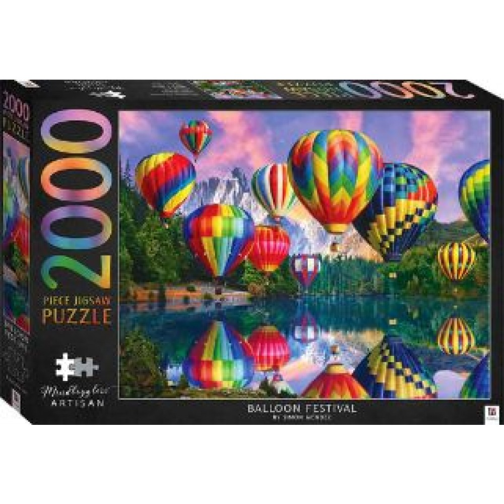 HINKLER PUZZLE BALLOON FESTIVAL 2000PCS