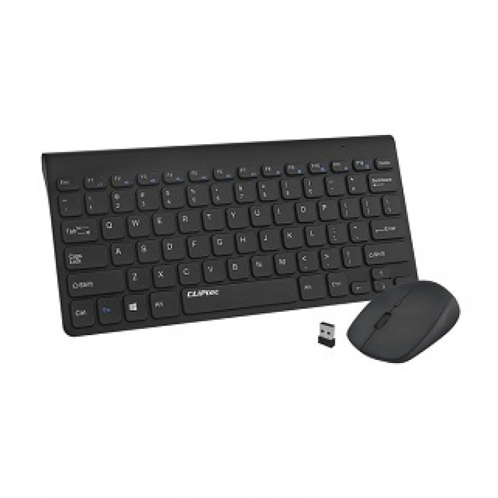 CLIPTEC RZK360 ULTRA SLIM SILENT WIRELESS KEYBOARD & MOUSE COMBO