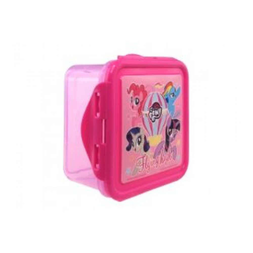 MY LITTLE PONY SQUARE LUNCH BOX
