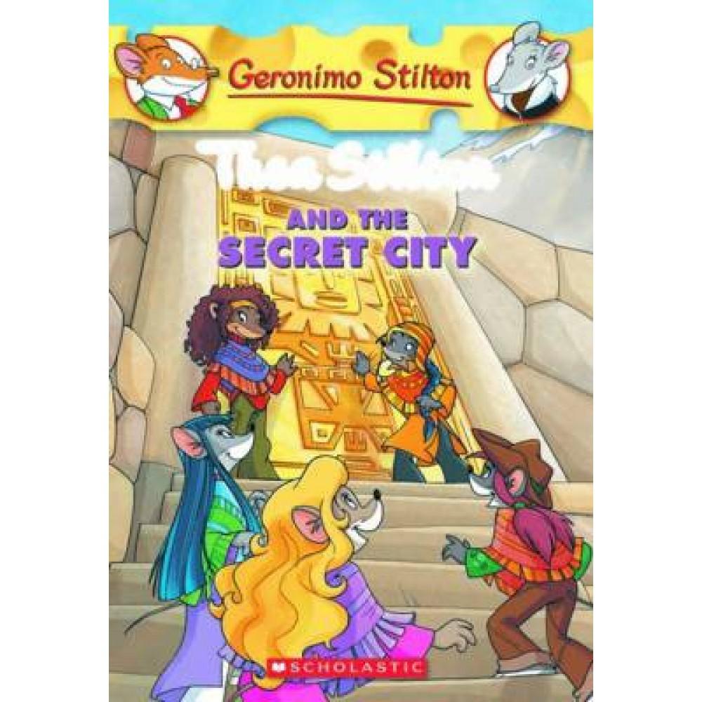 TS 04: THEA STILTON AND THE SECRET CITY