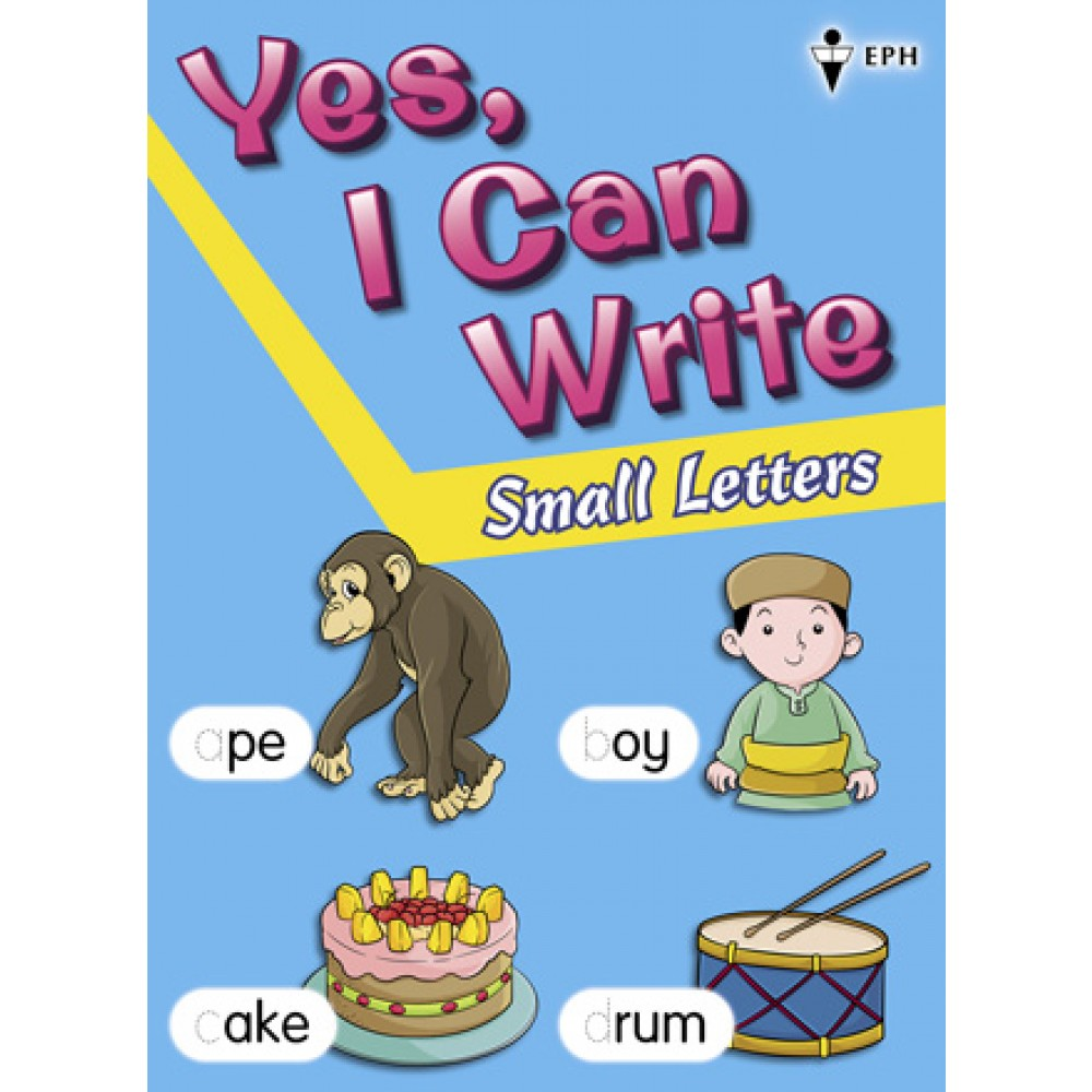 Yes, I Can Write-Small Letters