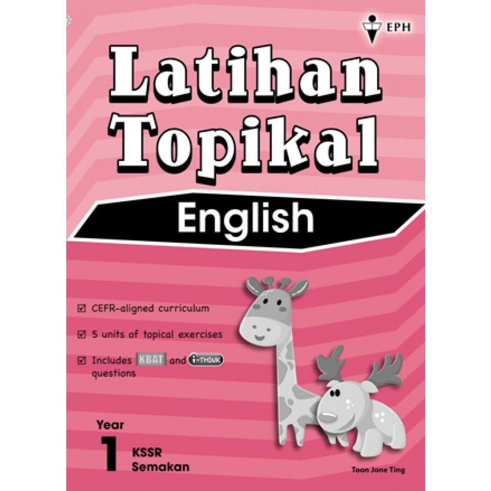 Tahun 1 Latihan Topikal English