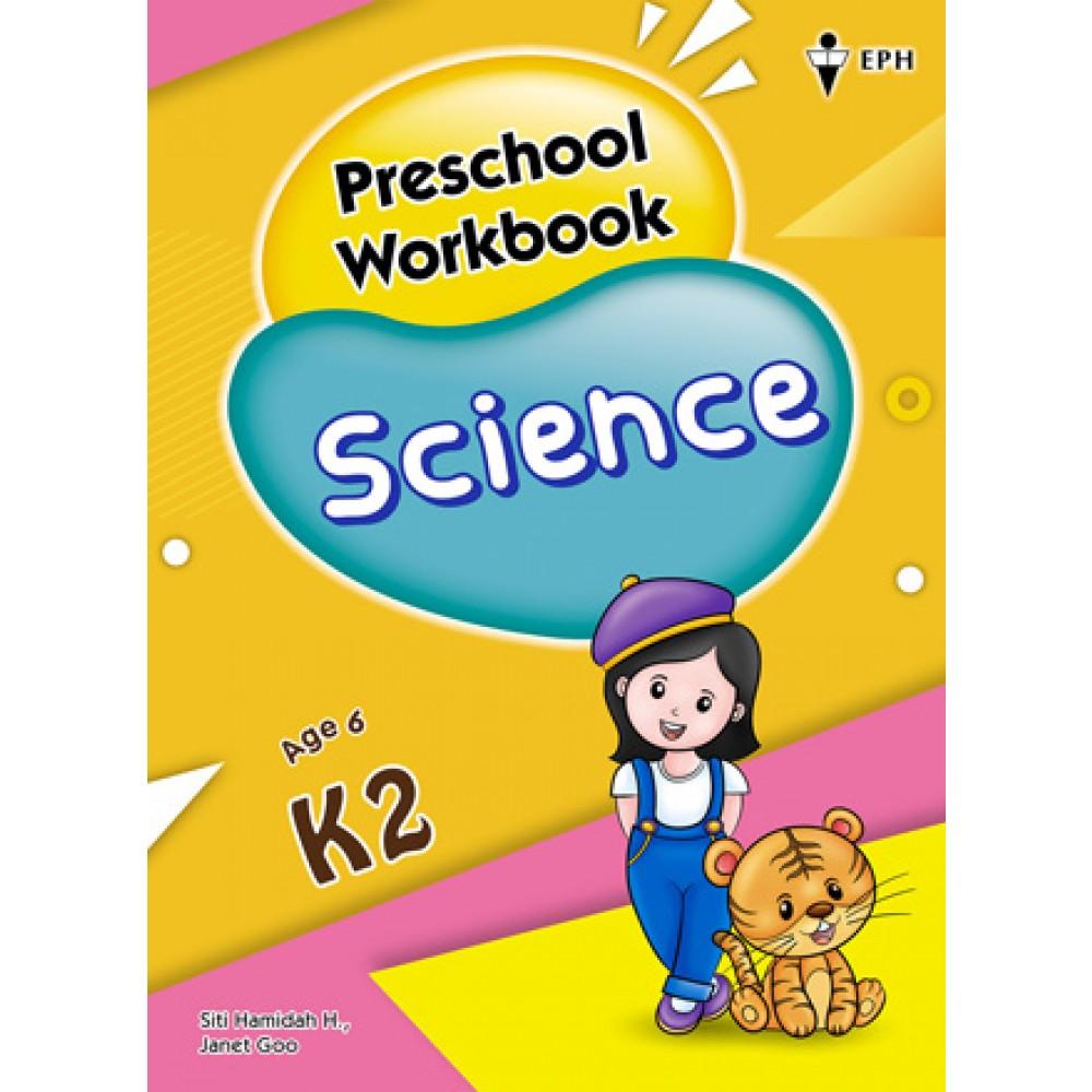 K2 Preschool Workbook Science