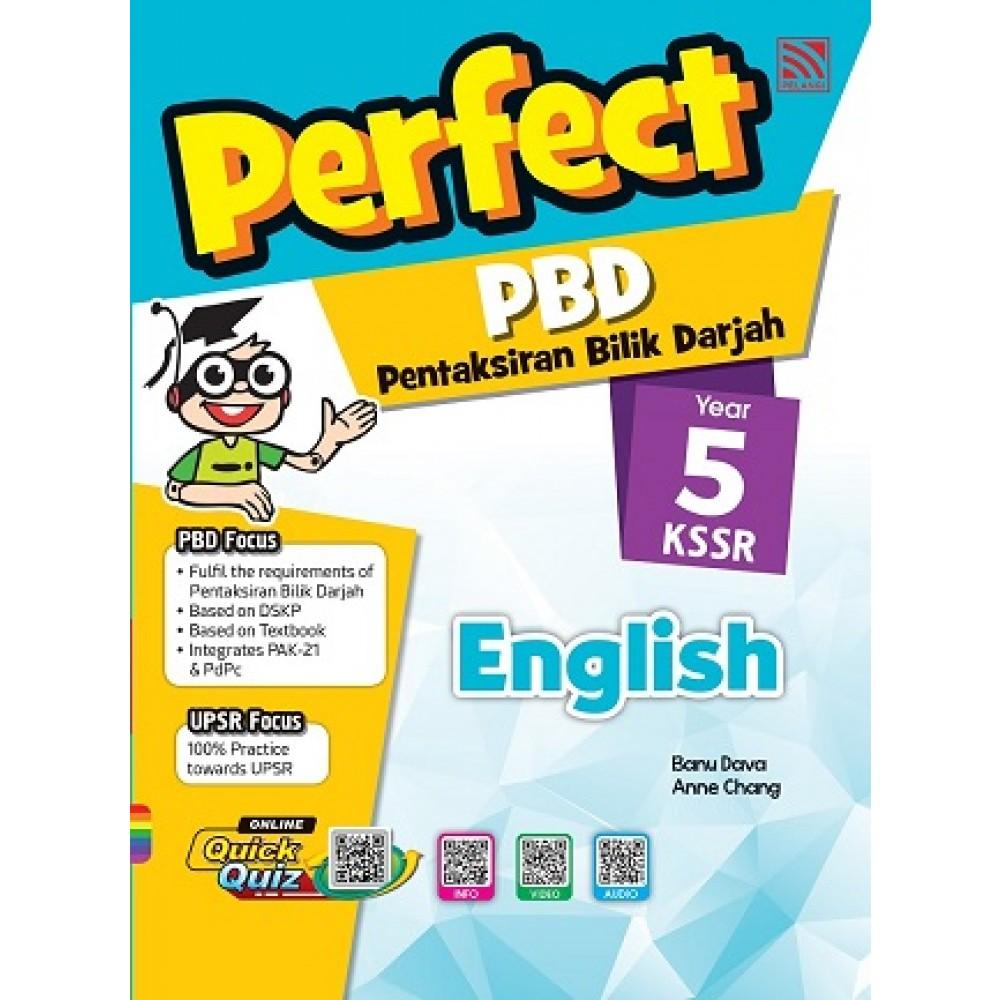 Tahun 5 Perfect PBD English