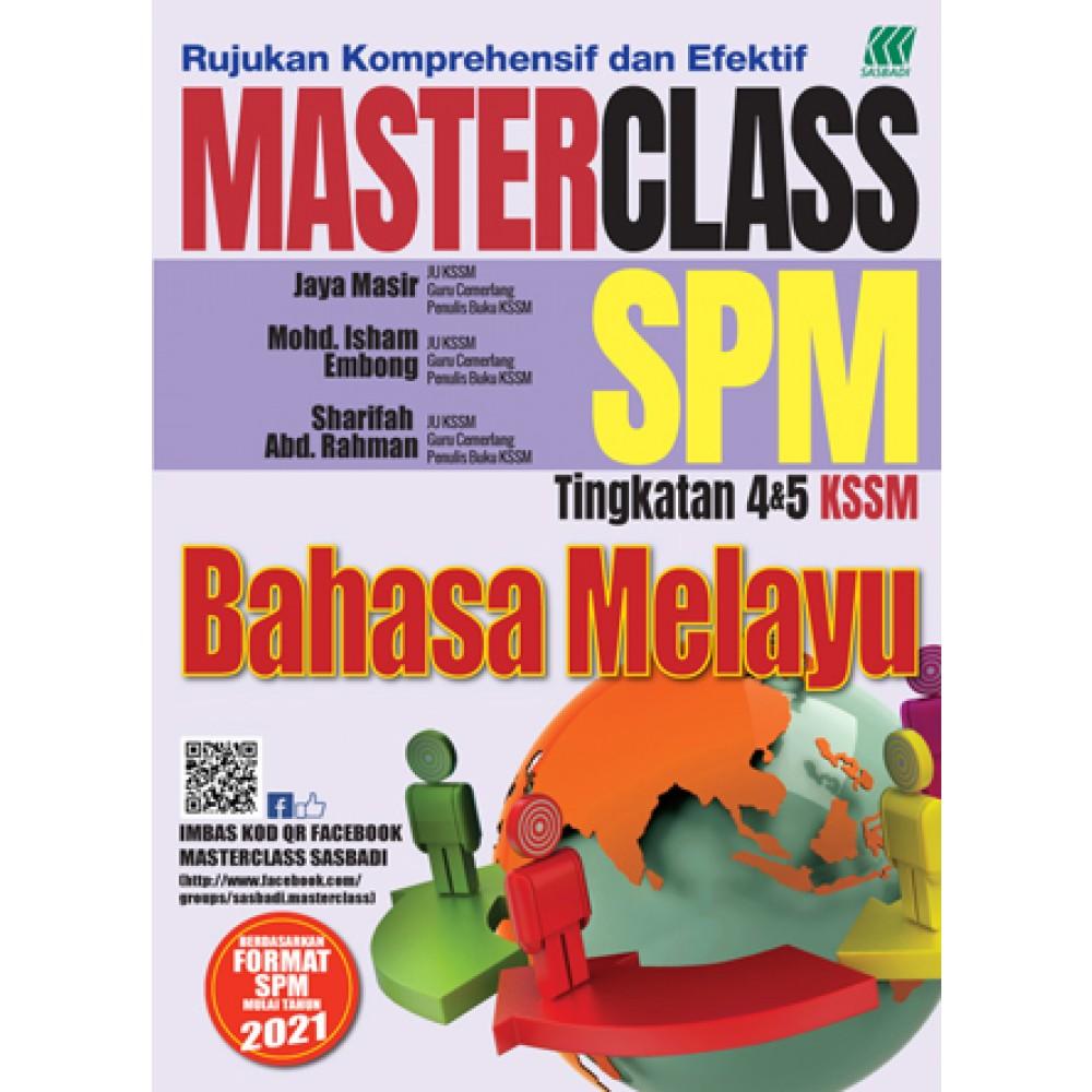 MASTERCLASS SPM BAHASA MELAYU