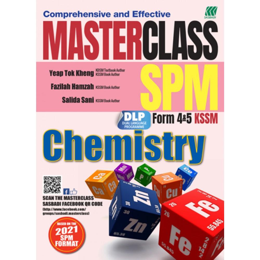 MASTERCLASS SPM CHEMISTRY