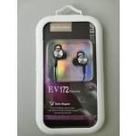 EV172 EARPHONE BLACK