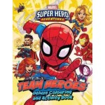 Marvel Superhero Adventures - Deluxe Colouring Book