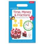 Little Genius Pad - Time, Money & Fractions