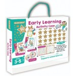 GOLD STARS EARLY LEARNING PUFFY STICKER ACTIVITY CASE