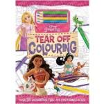 Disney Princess: Tear Off Colouring