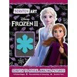 Disney Frozen 2: Scratch Art Activity Book