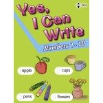 Yes, I Can Write-Numbers 1-10
