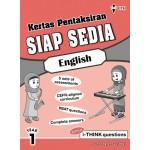 Tahun 1 Kertas Pentaksiran Siap Sedia English