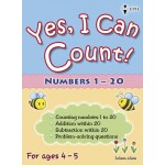 Yes, I Can Count Numbers 1-20