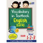 Tahun 1-3 Vocabulary In Textbook English (CEFR)