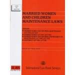 MARRIED WOMEN & CHILDREN MAINTENANCE LAW