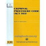 CRIMINAL PROCEDURE CODE (ACT 593) (AS AT