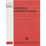 Federal Constitution Handbook (As at 25 Nov 2019)