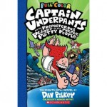 Captain Underpants #8: The Preposterous Plight of the Purple Potty People Color Edition