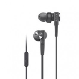 SONY MDR-XB55AP EXTRA BASS WIRED EARPHONE BLACK