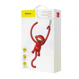BASEUS MONKEY CAR FRAGRANCE RED