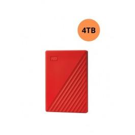 WESTERN DIGITAL HARD DISK 4TB MY PASSPORT WORLDWIDE RED