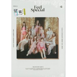 TWICE - 8TH MINI ALBUM: FEEL SPECIAL (A VER-WHITE)