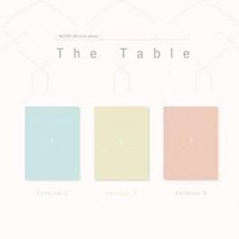 NU'EST - 7TH MINI ALBUM: THE TABLE (A/B/C VER) (RANDOM VERSION)