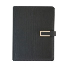 Ultimate Journal - 6 O Ring Thermo PU Cosmic - Black Colour