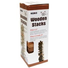 KENO WOODEN STACKS 48PCS