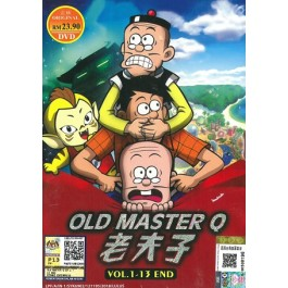 老夫子 OLD MASTER Q V1-13END (DVD)
