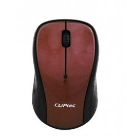 CLIPTEC RZK856 XILENT II2.4GHZ1200DPIWIRELESS SILENT MOUSE - BROWN