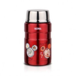 THERMOS  MICKEY GO LOCAL STAINLESS STEEL KING FOOD JAR WITH SPOON 710ML