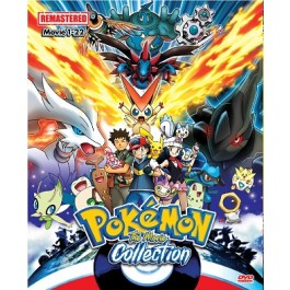 POKEMON THE MOVIE COLLECTION (7DVD)