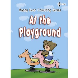 Happy Bear Colouring Series - At the Playground