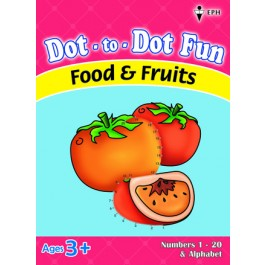 Dot-to-Dot Fun - Food & Fruits