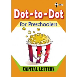 Dot-to-Dot for Preschoolers - Capital Letters