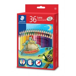 STAEDTLER LUNA COLOURED PENCILS - 36 COLOURS