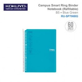KOKUYO CAMPUS SMART RING BINDER NOTEBOOK B5 (REFILLABLE) RU-SP706BG