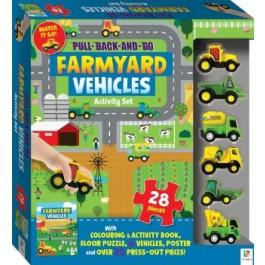 HINKLER MAT PUZZLE FARMYARD VEHICLES