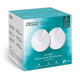 TP-LINK DECO M5 2-PACK UNIT (AC1300 Whole Home Mesh Wi-Fi System)