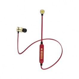 A&S WONDER WOMAN BLUETOOTH EARPHONE RED