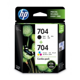 HP 704 COMBO PACK INK CART (F6V33AA)