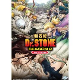 DR. STONE 新石纪 SEASON 2 VOL.1-11 END(DVD)