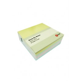 POP BAZIC STICKY NOTE 3IN.X3IN. 80'SX4PAD 303-80-4PGYB