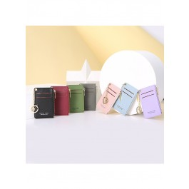 ZIPPER COIN BAG WITH CARD SLOT