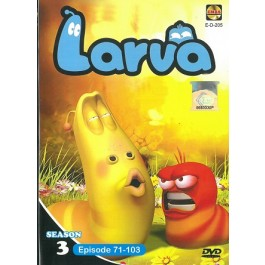 LARVA SEASON 3 EP71-103 (DVD)