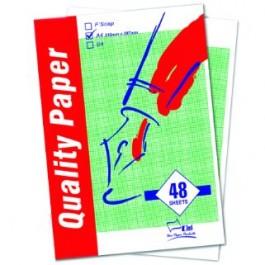 UNI S35 Graph Paper A4 70gsm 48 sheets