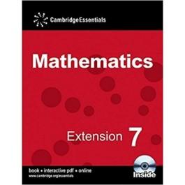 Extension 7 Pupil Book Cambridge Essentials Mathematics (with CD)